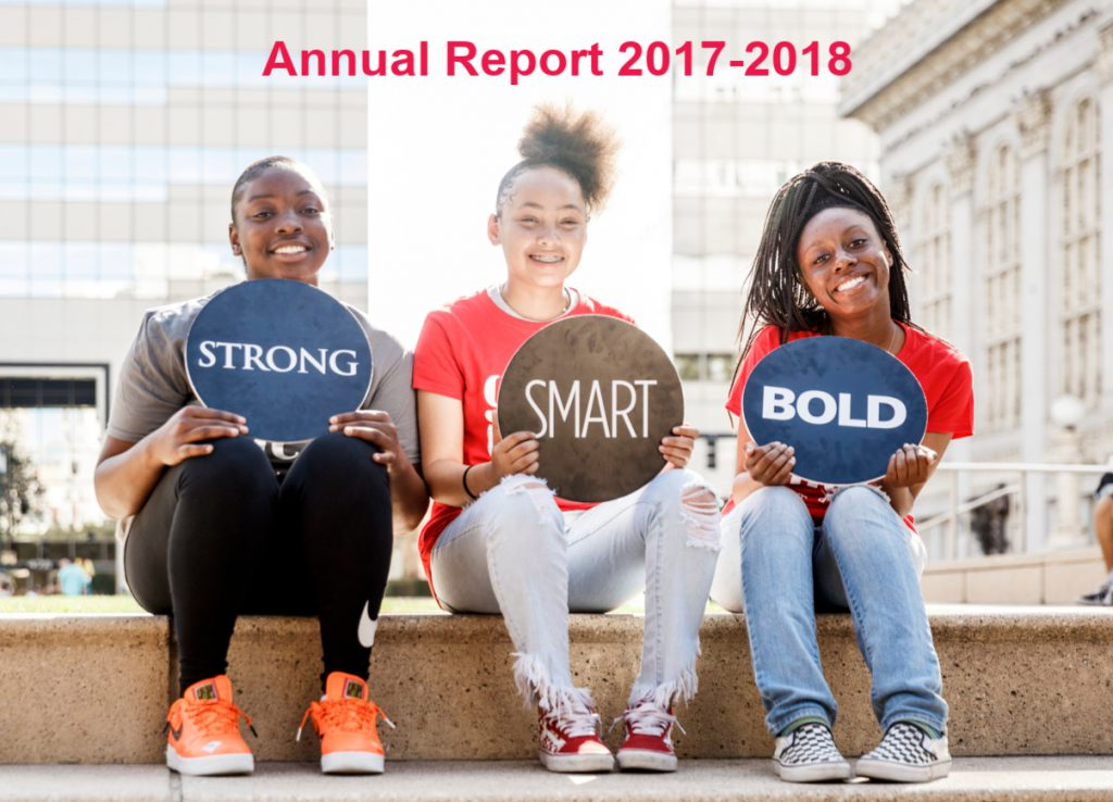 Strong smart bold annual report